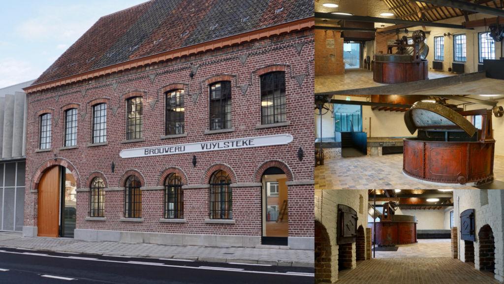 Ruwbouw, restauratie en afwerking Brouwerij Vuylsteke